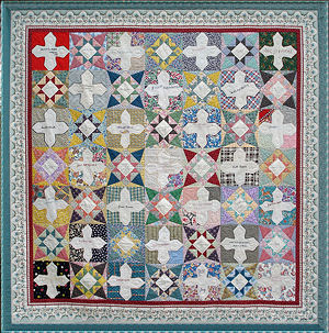Sixty Years of Remembrances quilt