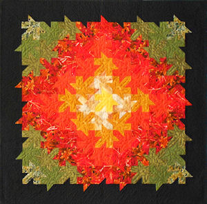 Autumn Splendor paperpieced quilt pattern