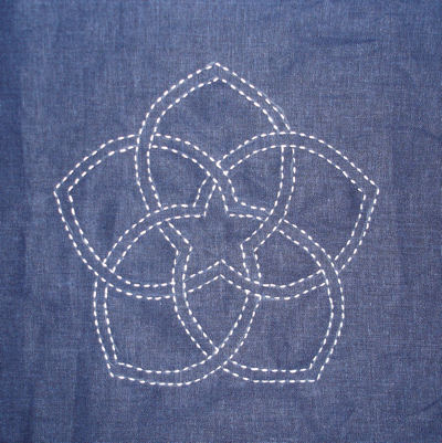 Sashiko Starflower
