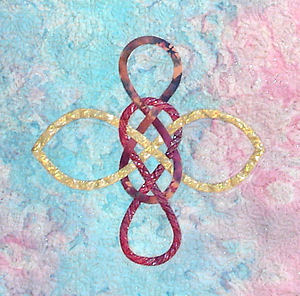 Picture of Wind, one of the four new Celtic knot blocks.
