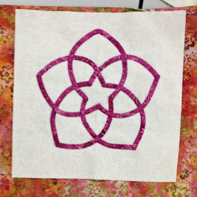 Debbie Johnson's starflower block