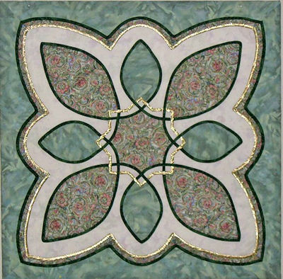 Sue's Celtic wallhanging