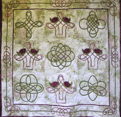 Celtic quilt by the MVQG